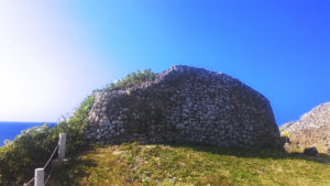 具志川城跡のグスク