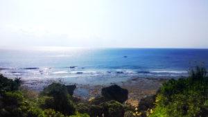 具志川城址から見える空と海